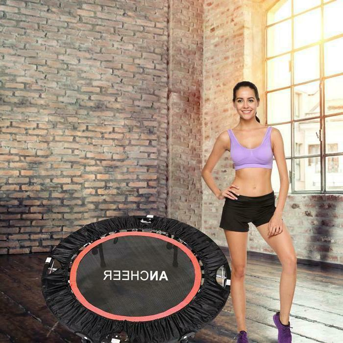 """Ancheer 40"""" Mini Trampoline Fitness with Adjustable"""