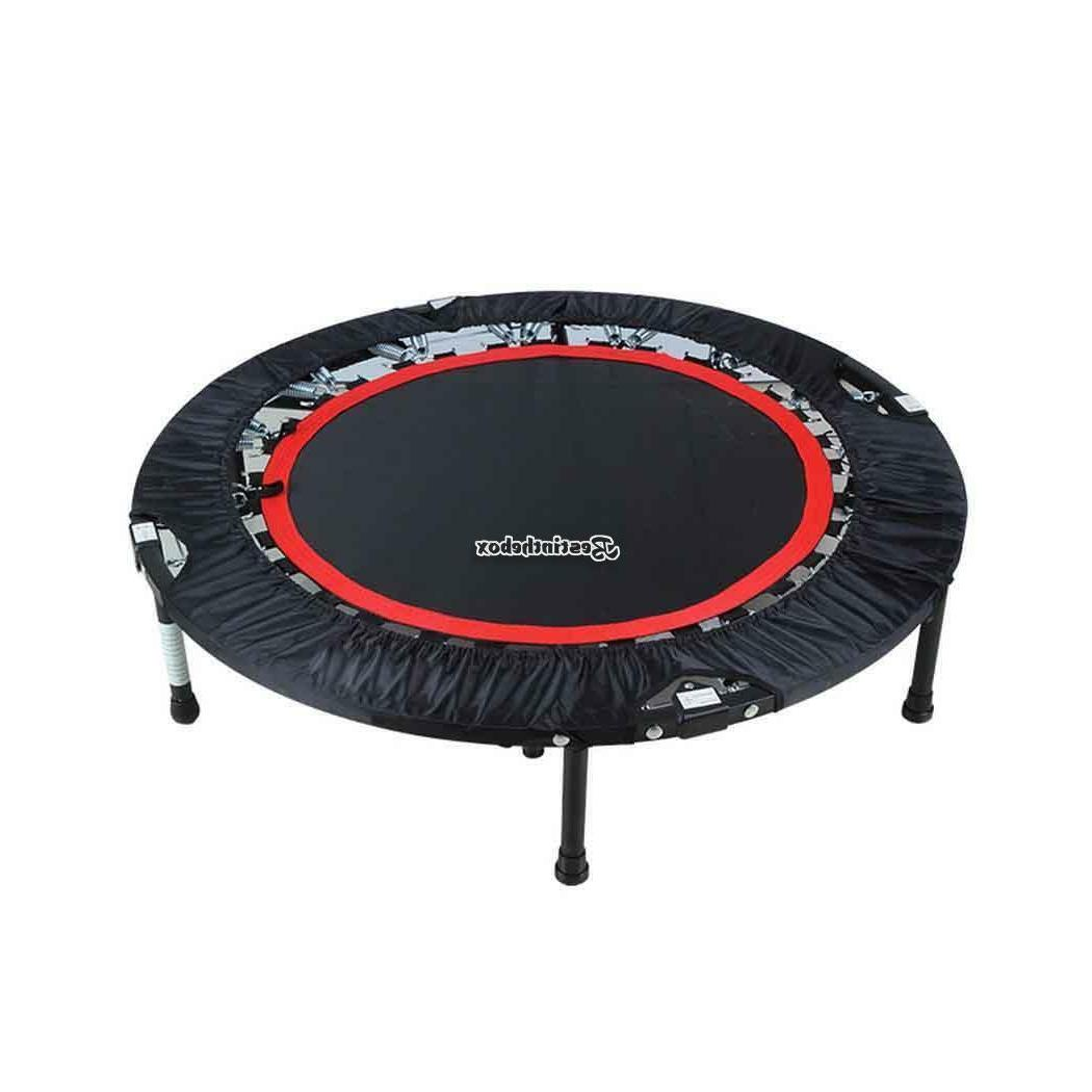 "Medium Trampoline 40"" Folding Fitness Exercise Bouncer Sport"