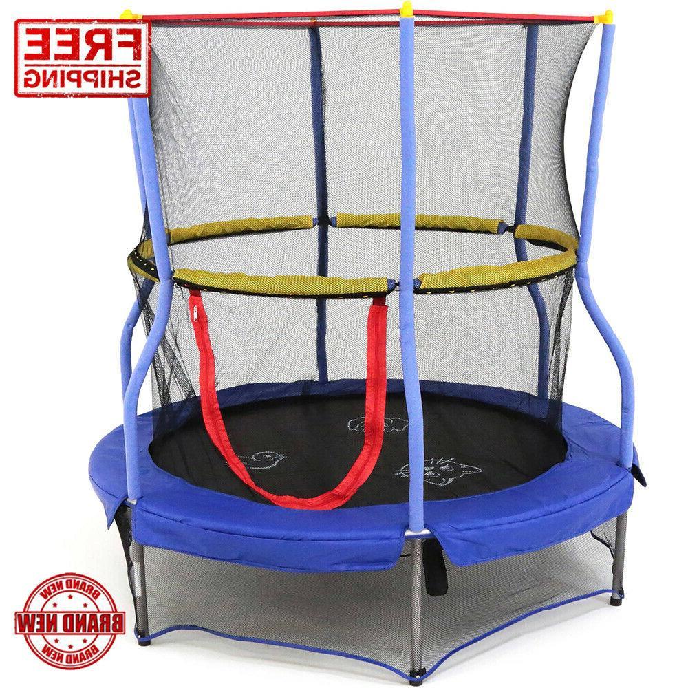 Skywalker Trampolines 55-Inch Bounce-N-Learn Trampoline with