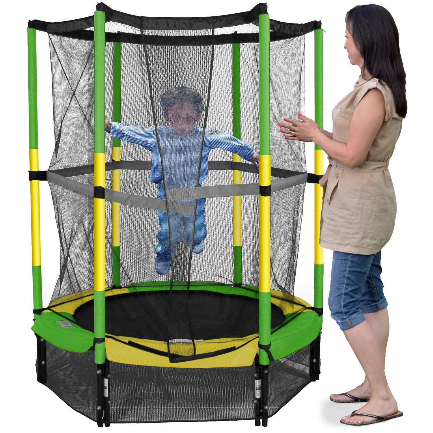 Bounce My First Trampoline, Enclosure, Green
