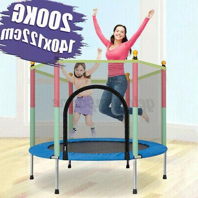 55 kids mini round trampoline exercise jumping