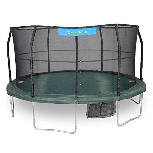 6 legs trampoline enclosure