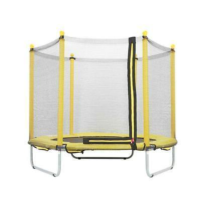 Kids Indoor Trampoline Mini Bouncer Enclosure Safety Childre
