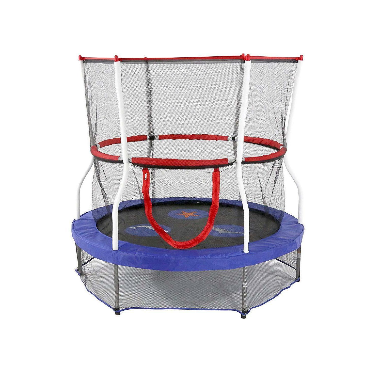 60 round seaside adventure trampoline mini bouncer