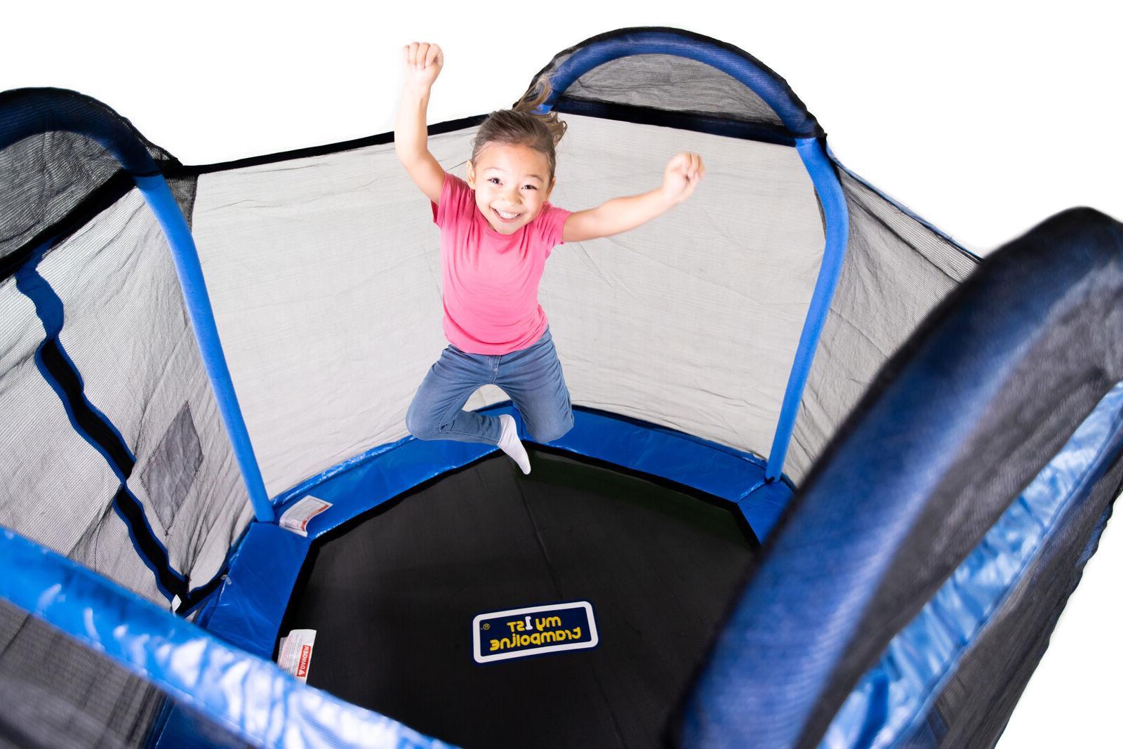 Bounce Pro First Trampoline Kids, Blue/Green