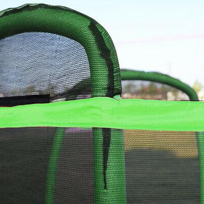 Clevr Bounce Net W/ Pad Outdoor