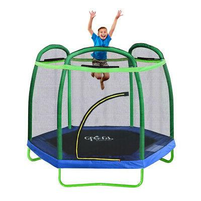 Bounce Jump Safety Enclosure Net