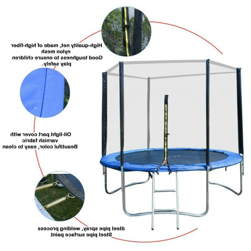 8 With Net Jumping Mat Padding