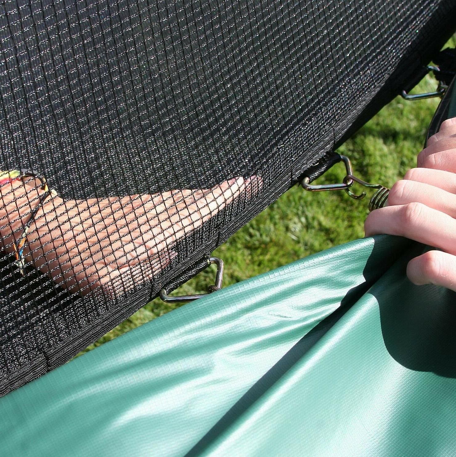 Trampoline and Green