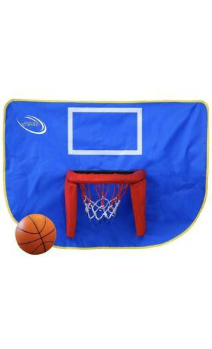 basketball hoop and ball trampoline accessory