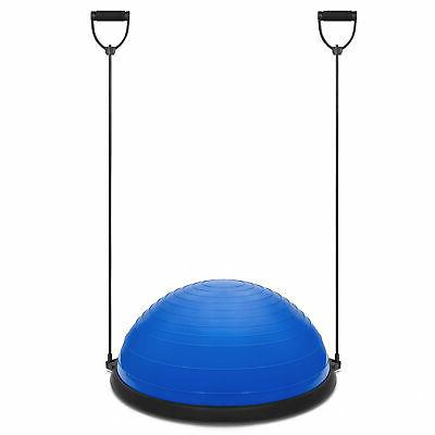 BCP Yoga Balance Trainer Exercise Workout w/ Pump, 2 Resistance Bands