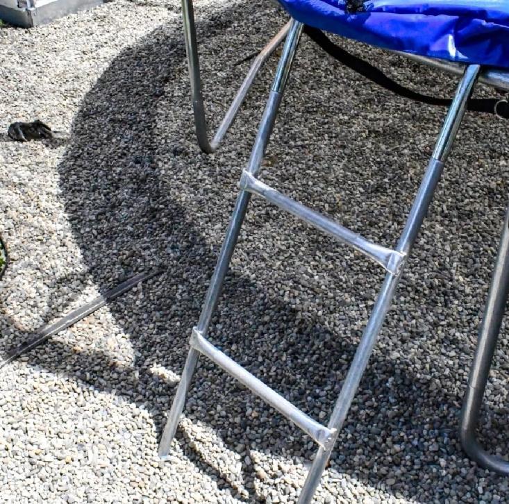 BEST Trampoline With Safety Net Ladder gift