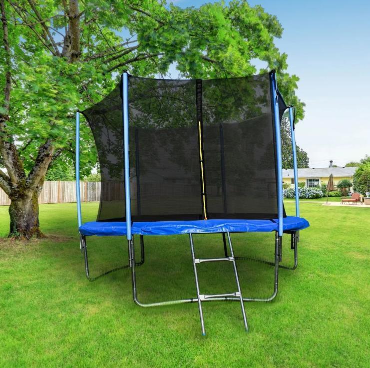 BEST Trampoline 8 ft With Net Ladder kids gift