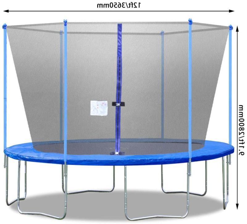 Bestmassage Trampoline Net Ladder Trampoline