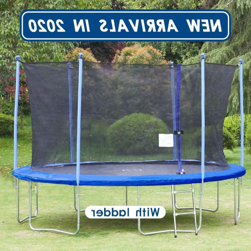 Net Ladder Trampoline