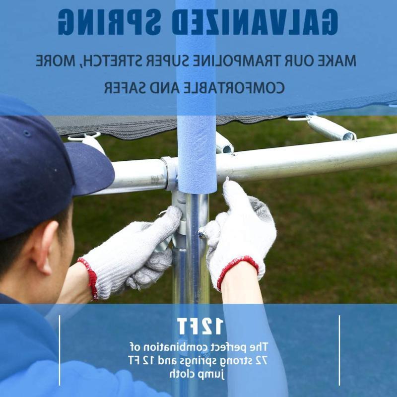 Bestmassage Trampoline Enclosure Net Ladder Trampoline Pvc