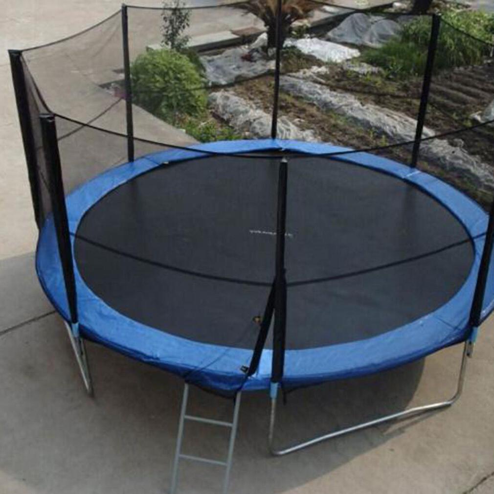 Blue, ft Round, Trampoline With Net Enclosure, Safe
