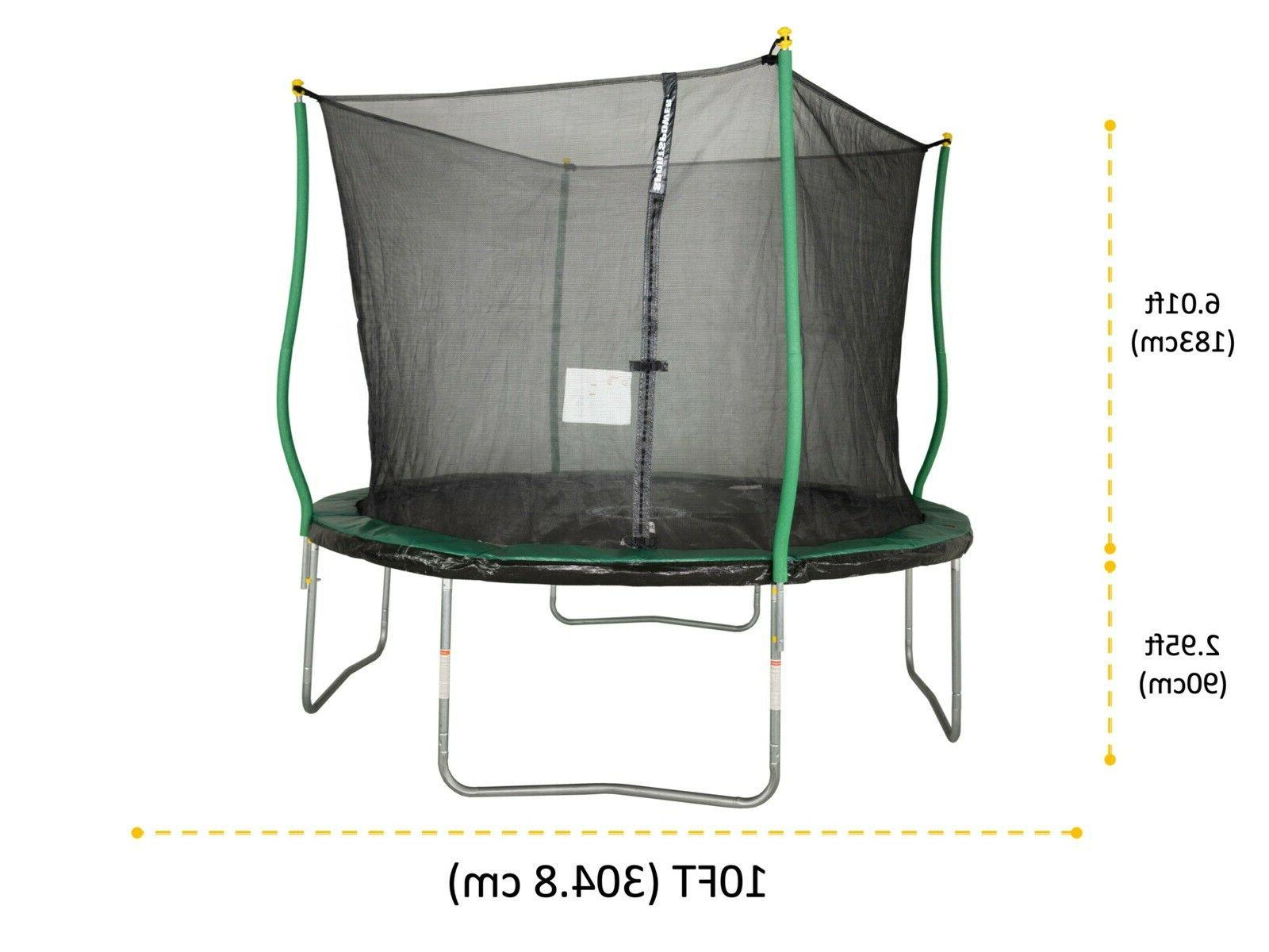 Bounce Enclosure Flash Zone,Green/Blck