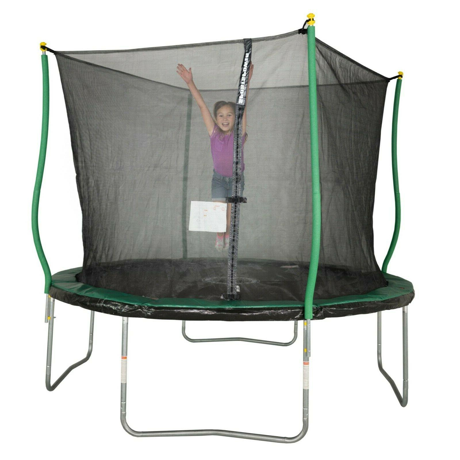 bounce pro 10 foottrampoline with classic enclosure