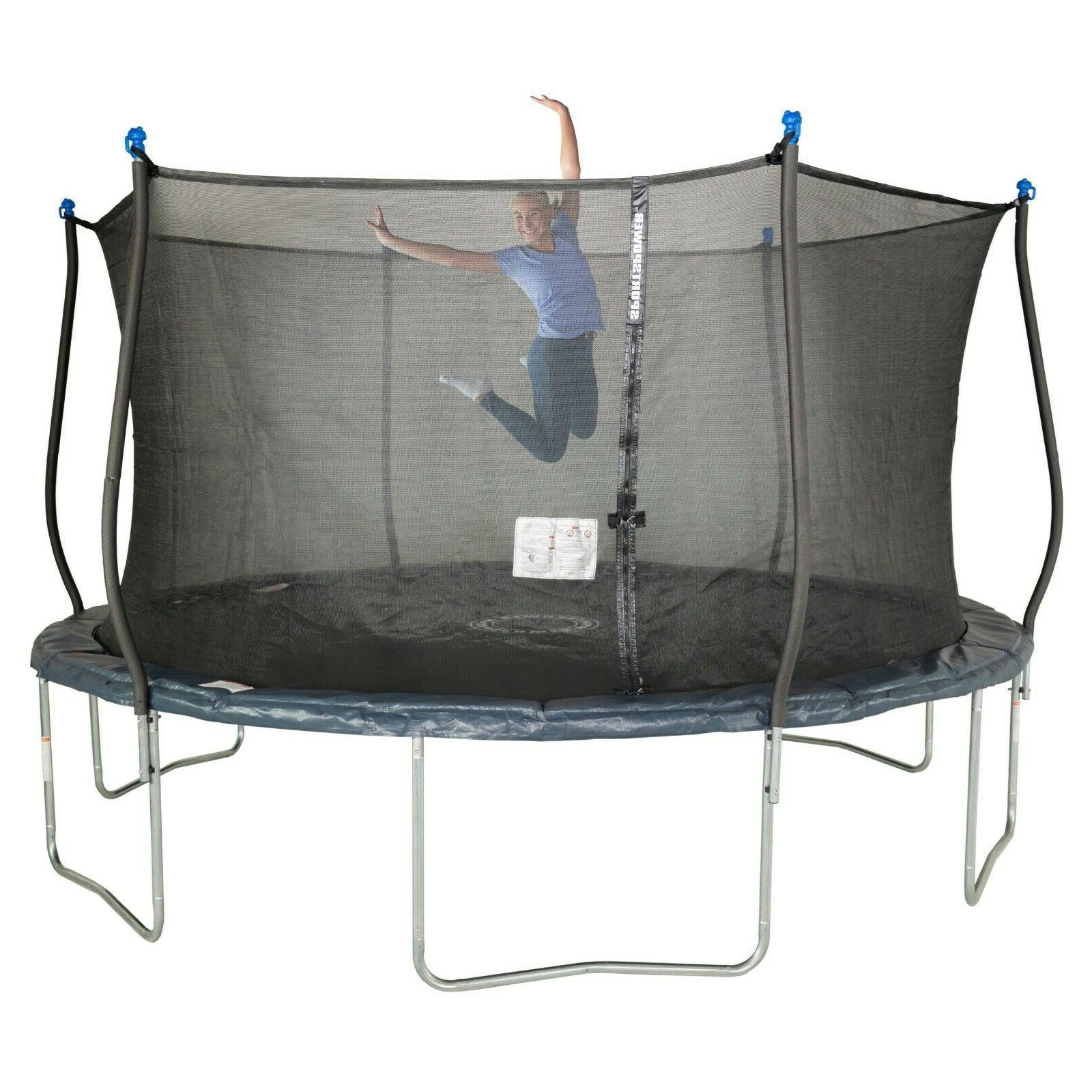 Bounce Pro 14 Enclosure and Safety Jump Mat