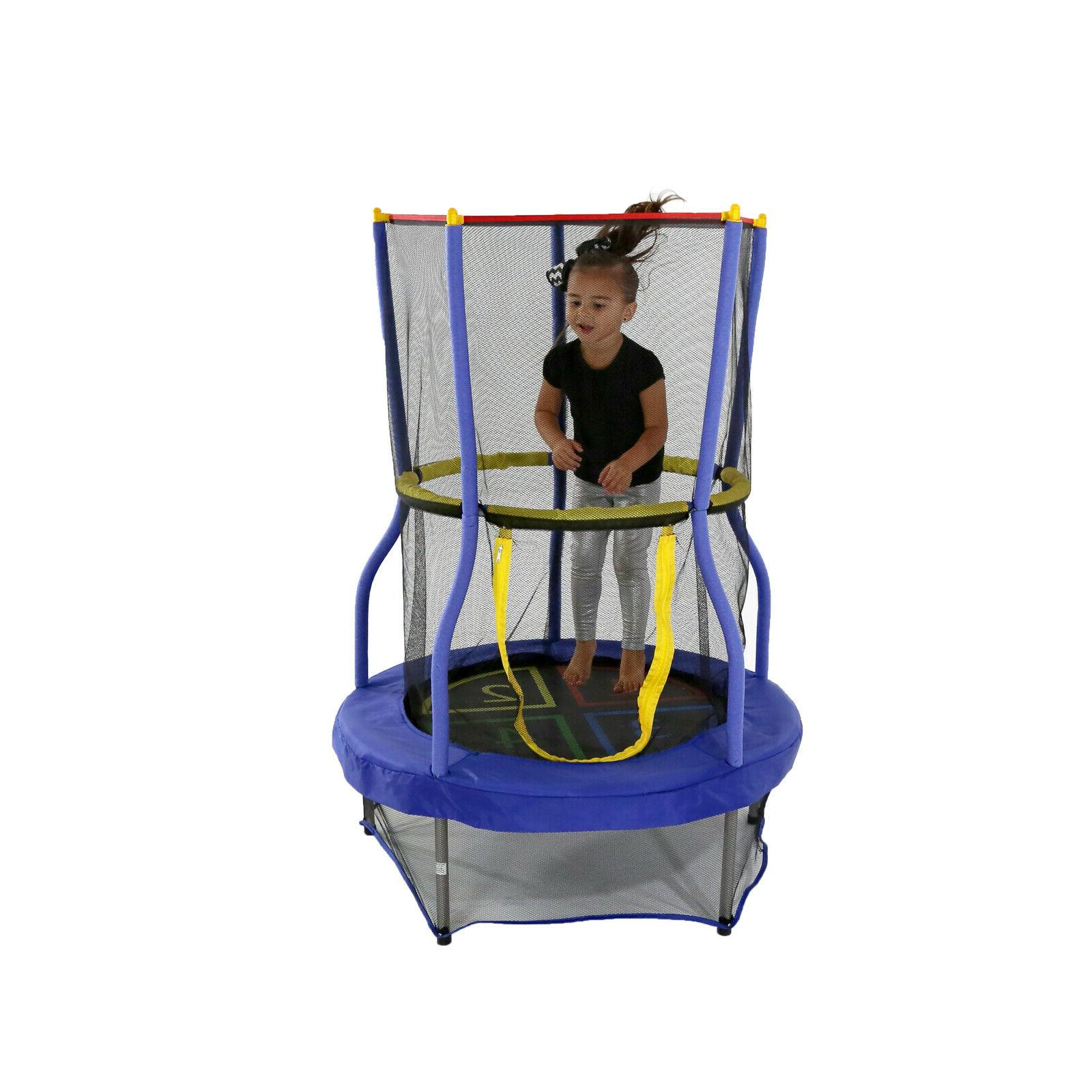 "Skywalker Trampolines Bounce-N-Learn 40"" Trampoline with Enc"
