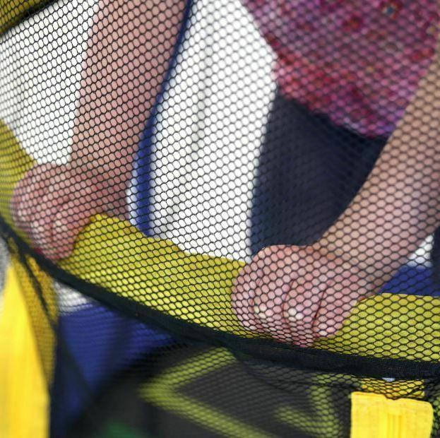 Trampoline Enclosure Jump Exercise Toddler Indoor