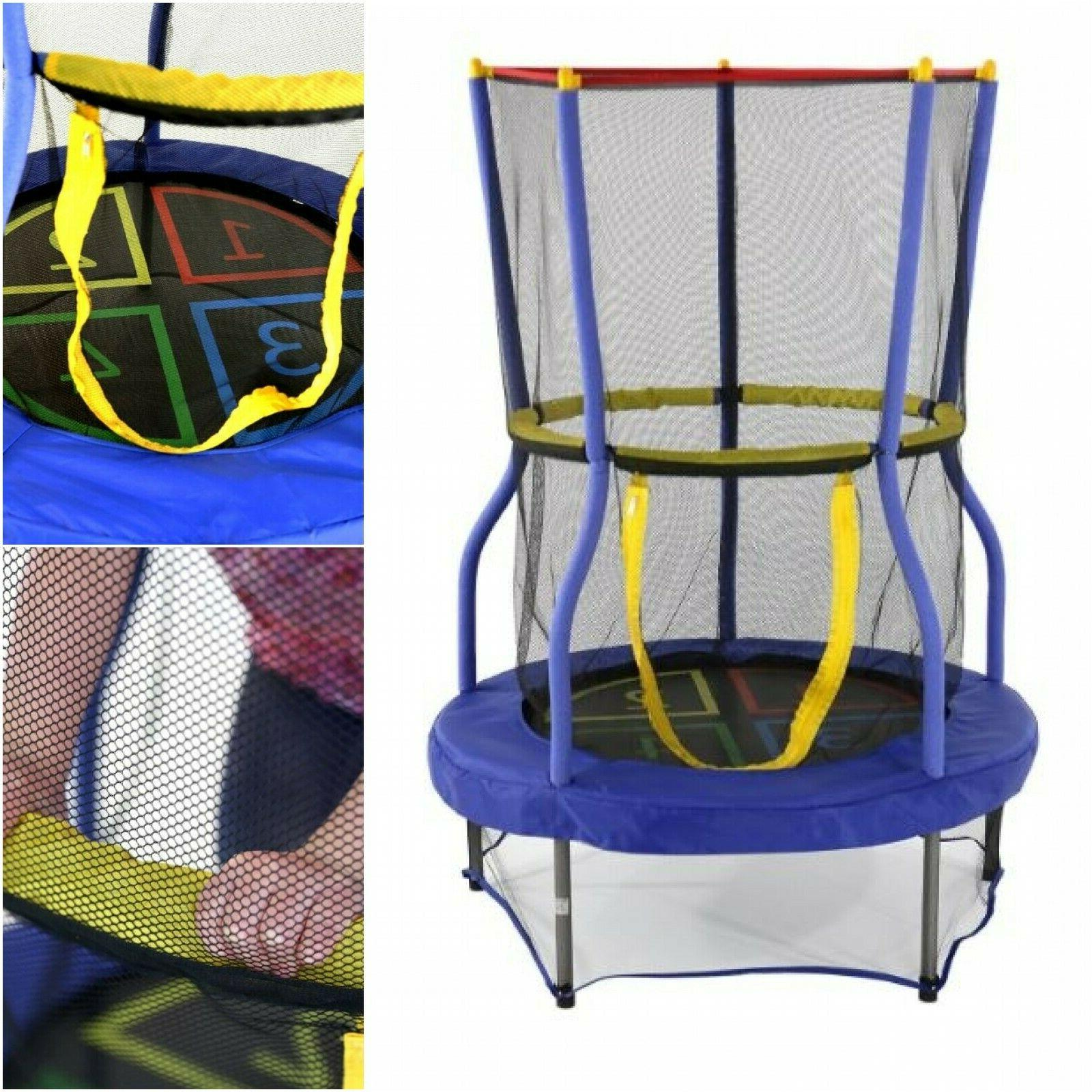 Trampoline Child Enclosure Jump
