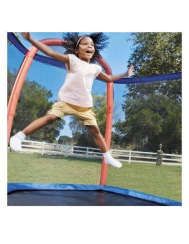 Little Slide Trampoline, Enclosure,