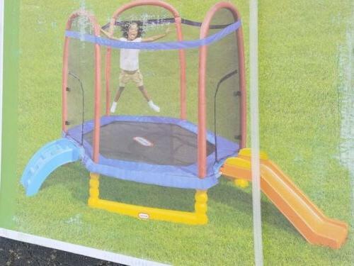 climb n slide trampoline