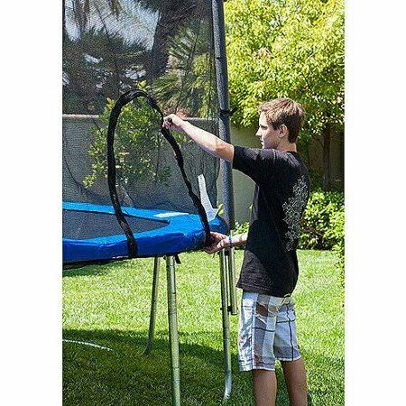 Airzone 15-Foot Trampoline, Safety Enclosure Net,