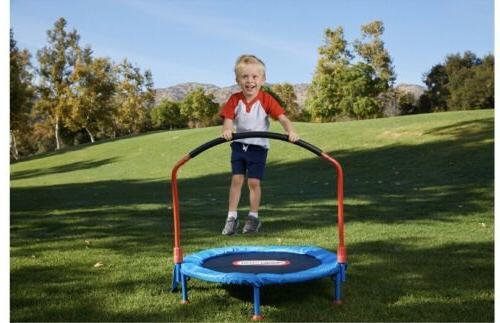little 3-foot trampoline Kids