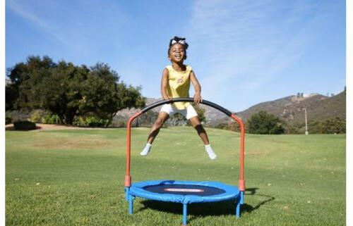 little tikes easy store 3-foot trampoline With Kids Bouncer
