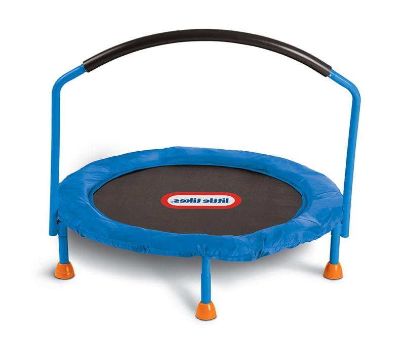 Exercise Equipment for Kids Mini Trampoline Toddler Little T