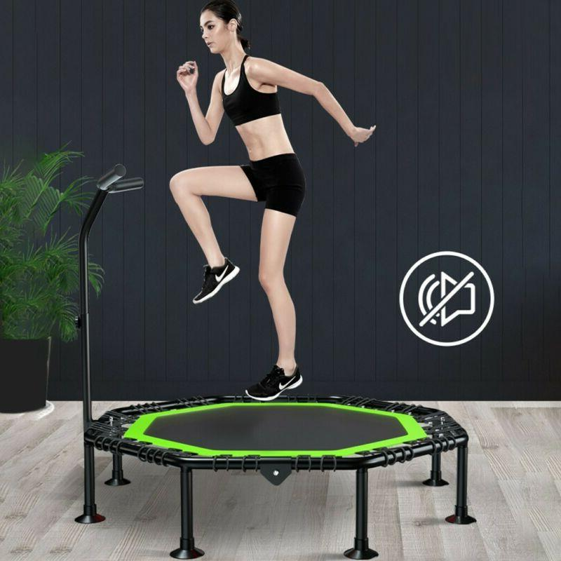 "Trampoline 51"" Folding Gym Fitness Exercise Workout Rebounde"