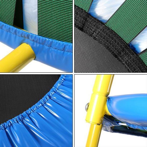 Jumping Fitness <font><b>Trampoline</b></font> with Adjustable for Indoor Jump Adults <font><b>Trampoline</b></font> for children Kid