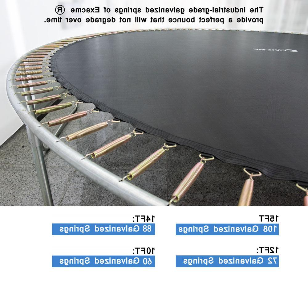 ExacMe Trampoline W/Spring S14