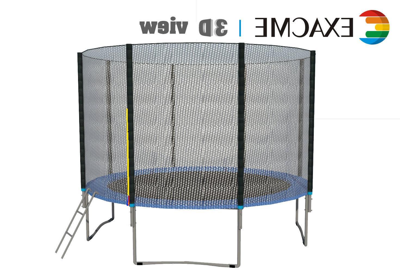 ExacMe Heavy Trampoline W/Spring
