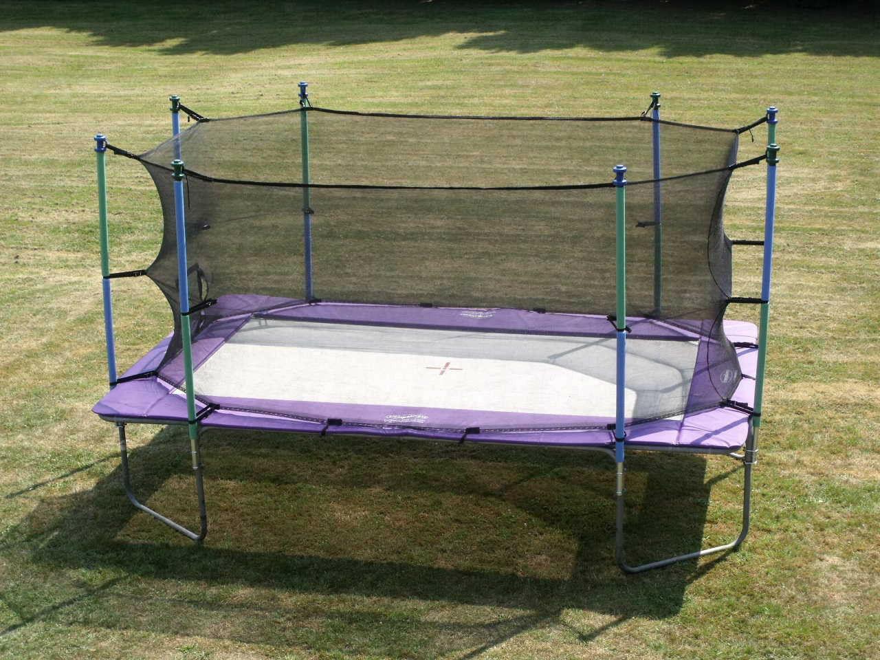 i jump 10x17 rectangle rectangular trampoline