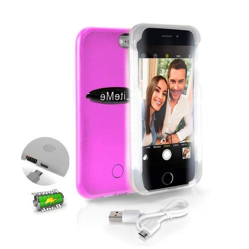 SereneLife iPhone 6 iPhone 6S Selfie Case - Durable LED Illu