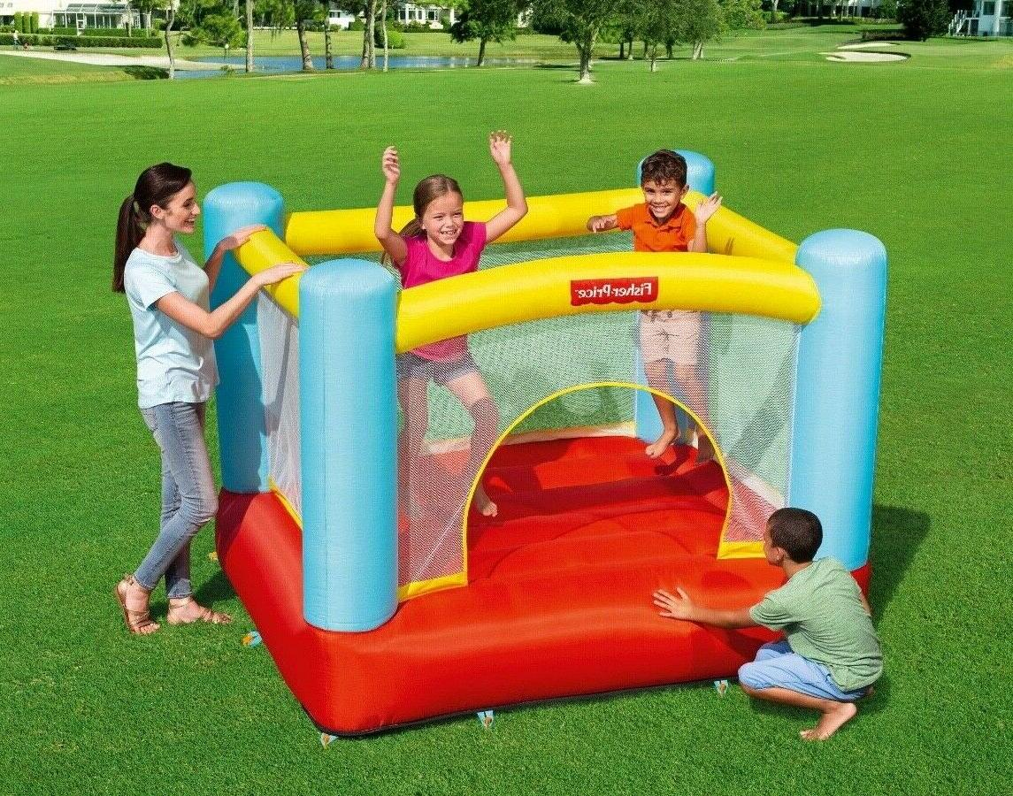 jump inflatable bouncer trampoline house ring play