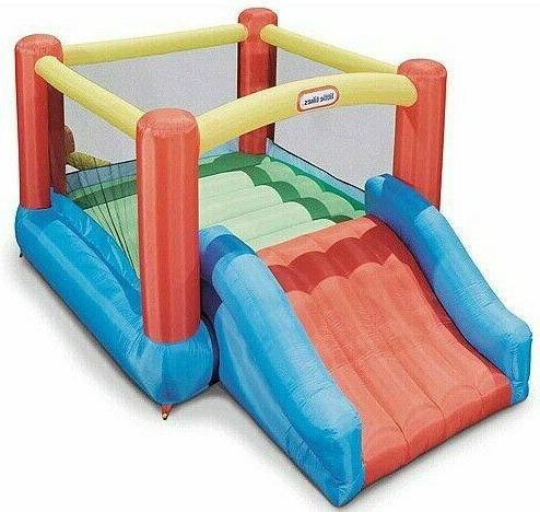 Jump Inflatable House Slide Center Outdoor Kids
