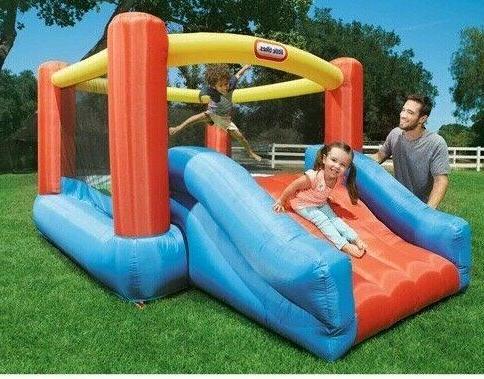 Jump House Slide Play Center Kids