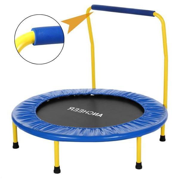 Jumping Fitness <font><b>Trampoline</b></font> with for Adults Kid