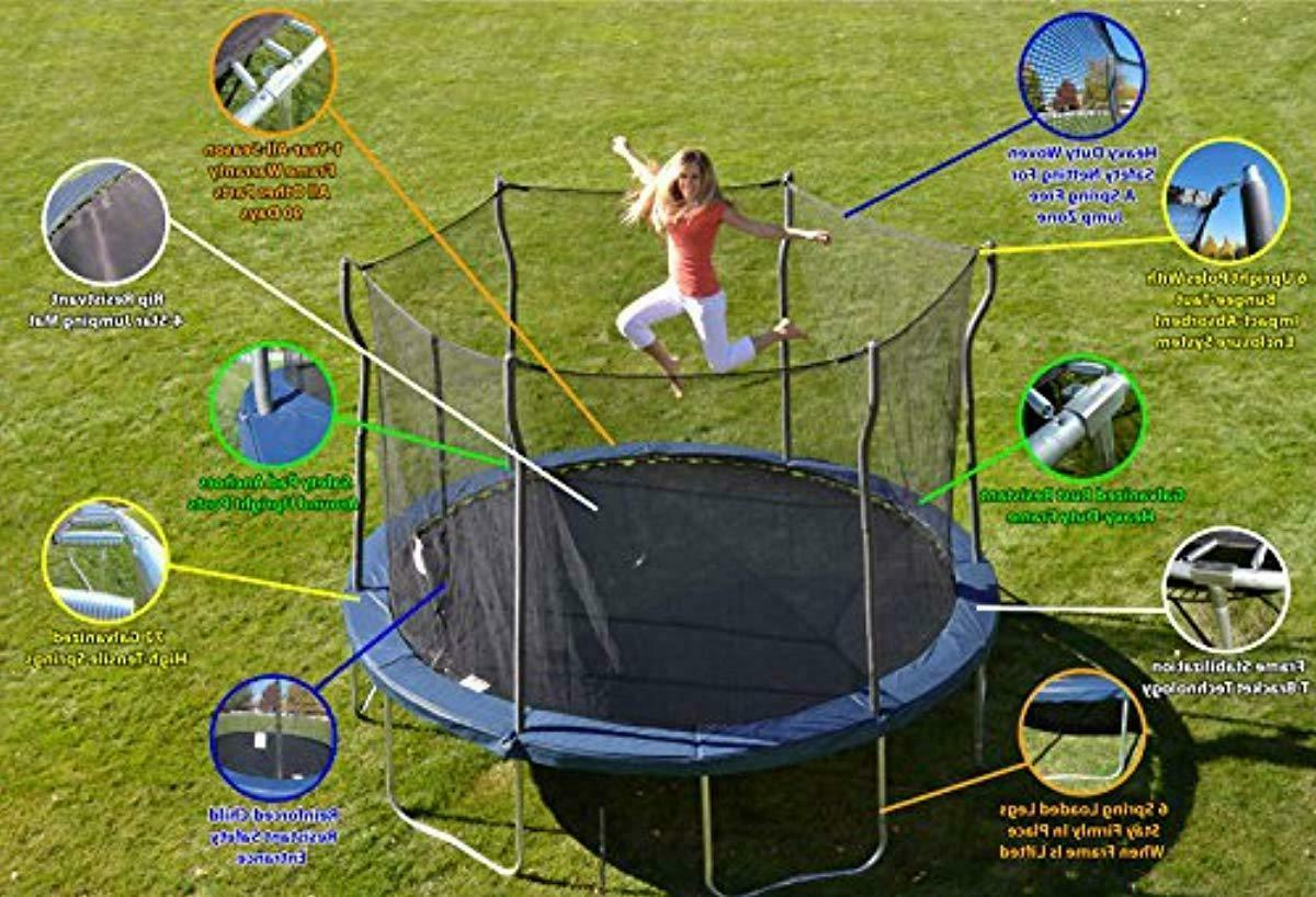 Kinetic Trampolines Trampoline with