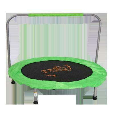 kids small trampoline 36 inch bouncer green