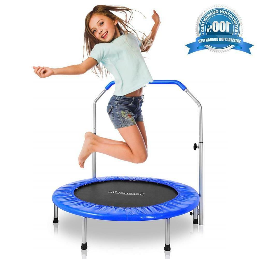 Kids Trampolin Jumping Sports Outdoor Garden Children Family