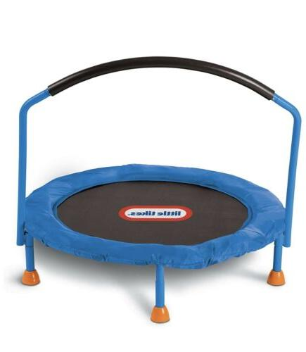 Kids Trampoline Exercise Jumping Bouncer Fun Handle Guard