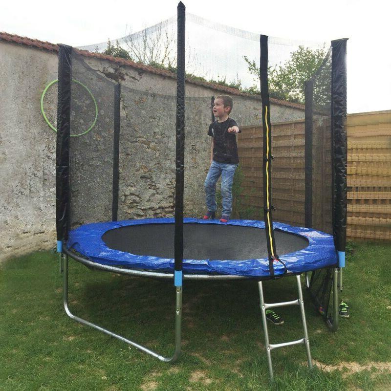 8 With Enclosure Jumping Mat Cover Padding