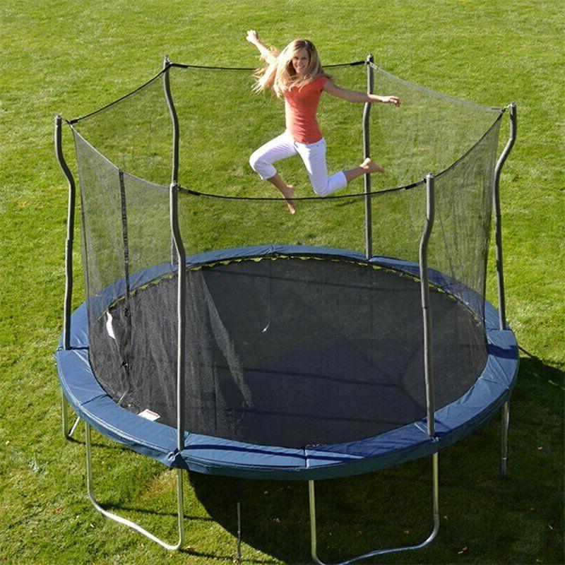 Propel Trampolines Kinetic 12' Round Backyard Trampoline wit