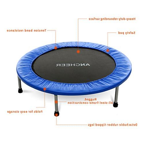 ANCHEER Max Load Rebounder with Safety Pad Workout